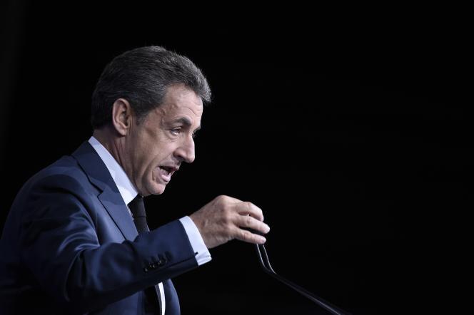 Nicolas Sarkozy à Paris, en 2016.