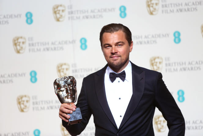 Leonardo DiCaprio, le 14 février, lors de la cérémonie de la British Academy of Film and Television Arts.