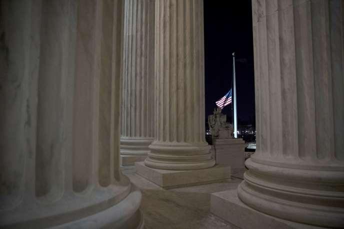 La Cour suprême des Etats-Unis, à Washington, le 13 février.