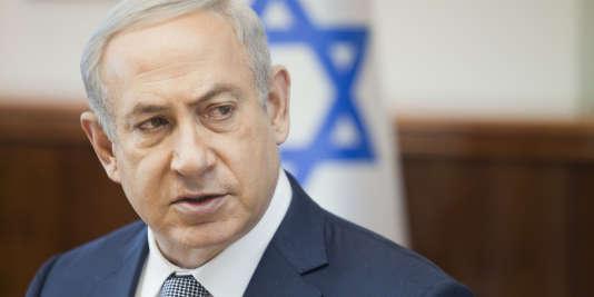 Le premier ministre israélien, Benyamin Nétanyahou, à Jérusalem le 14 février.