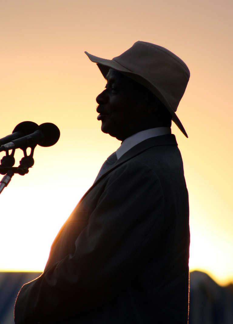 Yoweri Museveni, en 2005.