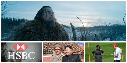 «The Revenant», HSBC, Kim Jong-un, Aurier: l'essentiel du 15février à 8heures.