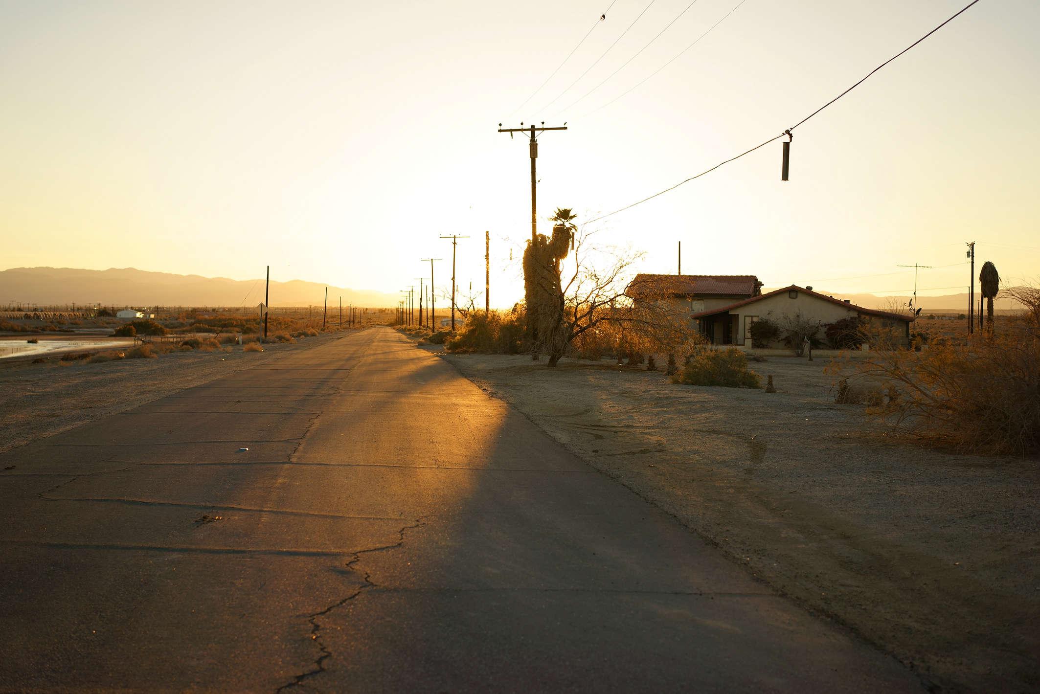 La plupart des habitants ont quitté les rives du lac. Mais si celui-ci continue de s'assécher, libérant les phosphates et pesticides contenus dans son fond, c'est un million et demi d'Américains qui devront fuir la vallée de Coachella.