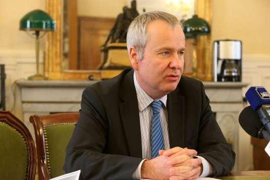 Le procureur de la République Fabrice Belargent, à Reims, le 15 février 2016.