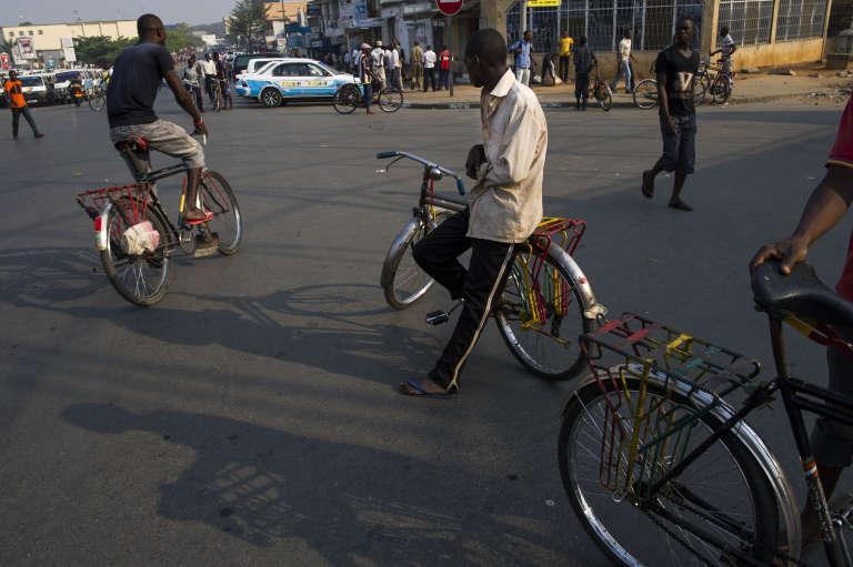 Dans les rues de Bujumbura, en juillet 2015.