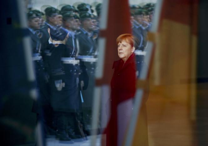 La chancelière allemande, Angela Merkel, à Berlin, le 12 février.