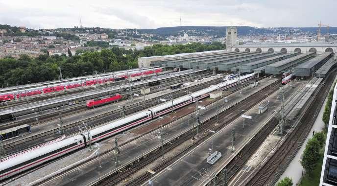 La gare de Stuttgart en 2010.