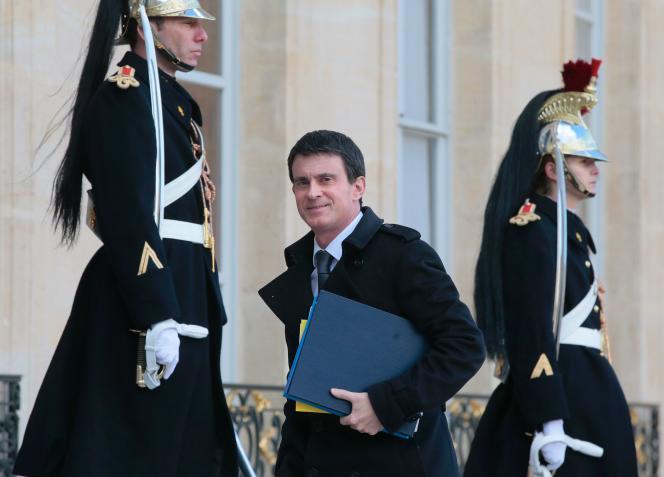 Le premier ministre, Manuel Valls, le 15 février.