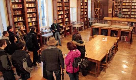 Ecole normale supérieure : visite guidée de la bibliothèque