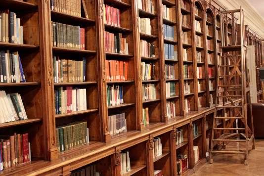 La bibliothèque  de l'ENS.