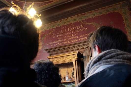 Ecole normale supérieure : ancien bureau de Louis Pasteur