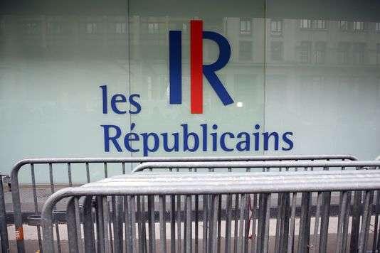 Siège du parti Les Républicains, dans le 15earrondissement de Paris.