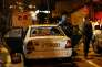 Des membres des forces de sécurité israéliennes sur les lieux de l'attaque du 25 janvier, à Beit Horon, au cours de laquelle une jeune femme a été poignardée à mort.
