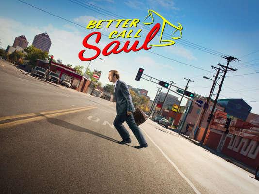 L'affiche de la série «Better Call Saul» avec Bob Odenkirk.