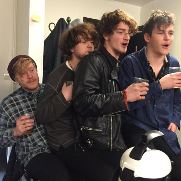 Les membres du groupe Viola Beach, le 12 février 2016.