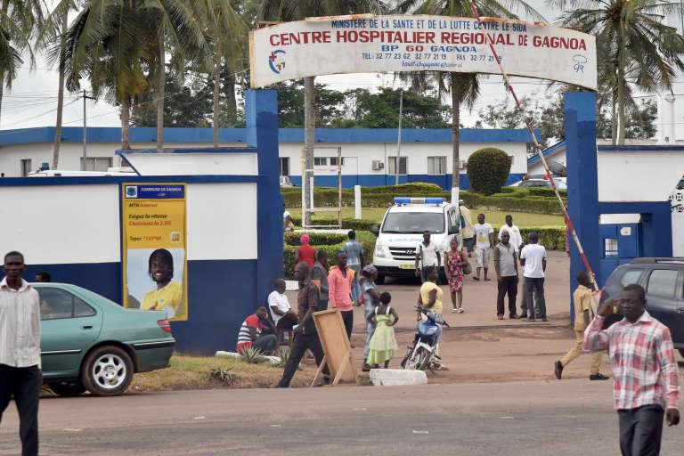 Le centre hospitalier régional de Gagnoa, en Côte d'Ivoire, en septembre 2015.
