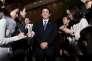 Le premier ministre, Shinzo Abe, le 28 janvier, à Tokyo.