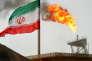 Une plateforme pétrolière iranienne dans le Golfe persique. L'Iran affiche la volonté de produire 3,8 millions de barils par jour, son niveau d'avant embargo en 2012.