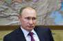 Le président russe Vladimir Poutine dans sa résidence officielle de Novo-Ogaryov, à l'ouest de Moscou, lundi 15 février.