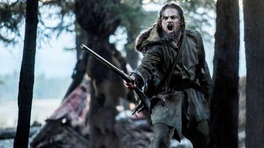 Leonardo DiCapriointerprète Hugh Glass,  une légende  de l'Ouest, dans «TheRevenant».