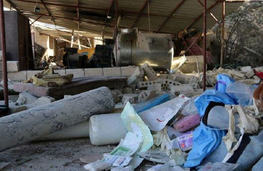 Un tir de missile a fait au moins onze morts, le 15 février, dans un hôpital soutenu par MSF dans la province d'Idlib, dans le nord de la Syrie.