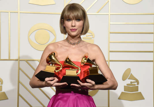 Taylor Swift, le 15 février à Los Angeles.