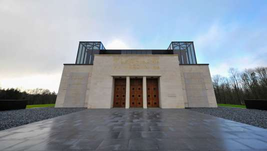 Le Mémorial de Verdun à Fleury-devant-Douaumont, le 12 février 2016.