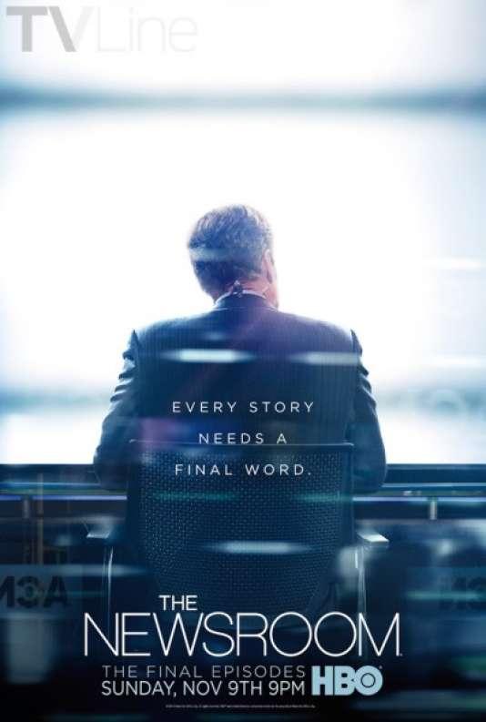 L'affiche du dernier épisode de la série « The Newsroom».