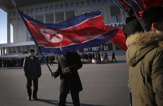 A Pyongyang, le 16 février 2016.