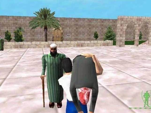 «Taht-al-ramad», un des premiers jeux arabes tentant de contrer l'imagerie des productions bellicistes américaines.