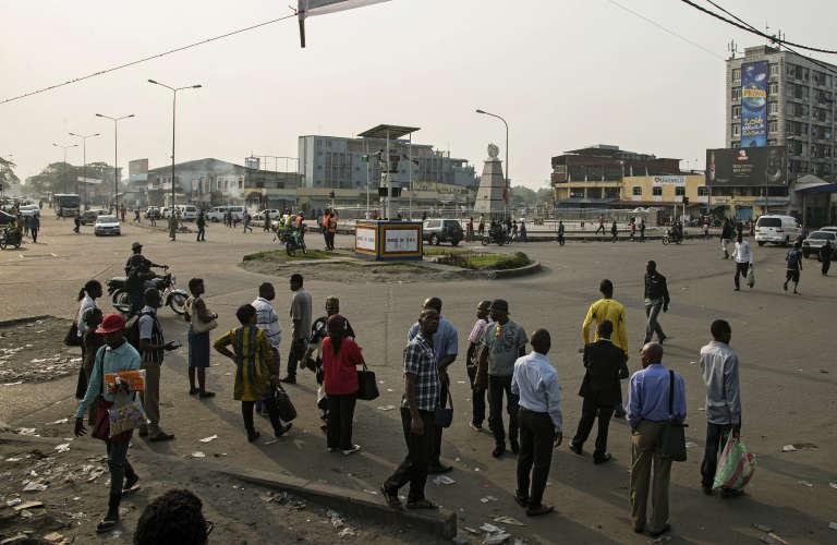 Kinshasa tournait au ralenti mardi 16 février.