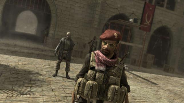 Expression des peurs de l'Amérique de l'après-11septembre 2001, «Call of Duty: Modern Warfare» amalgame Moyen-Orient, dictature et terrorisme.