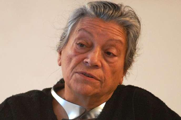 La militante féministe Thérèse Clerc, ici en février 2007, est morte le 16 février 2016.