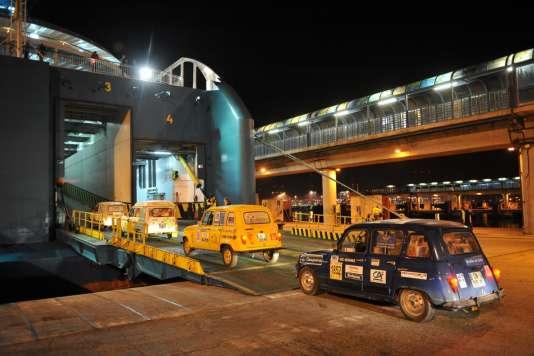 Deux ferries ont été spécialement affrétés pour assurer la traversée entre l'Espagne et le Maroc les 20 et 21 février.