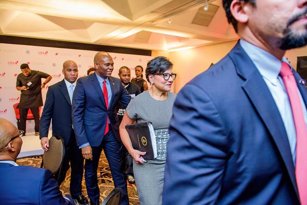 A Lagos, le 25janvier, sous la houlette de la secrétaire au commerce américaine, Penny Pritzker, une délégation de diplomates et d'hommes d'affaires venait rencontrer les entrepreneurs soutenus par la fondation de Tony Elumelu.