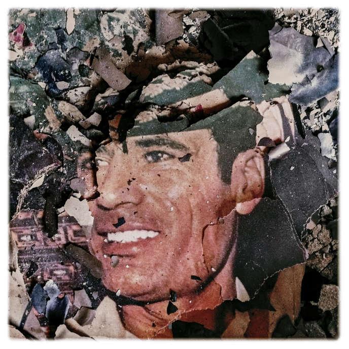 Cette image a été prise dans le siège des services secrets libyens, à Benghazi, dans l'est du pays, en 2011. Elle apparaîtra dans le livre