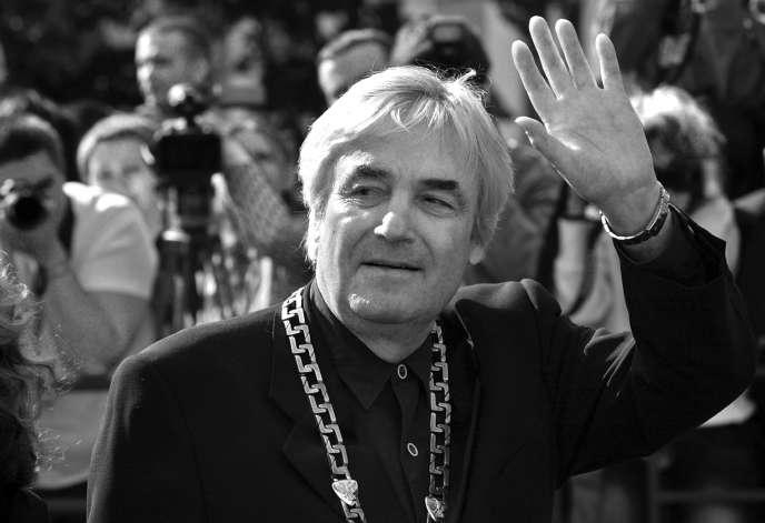 Andrzej Żuławski, en juillet 2006 à Moscou.