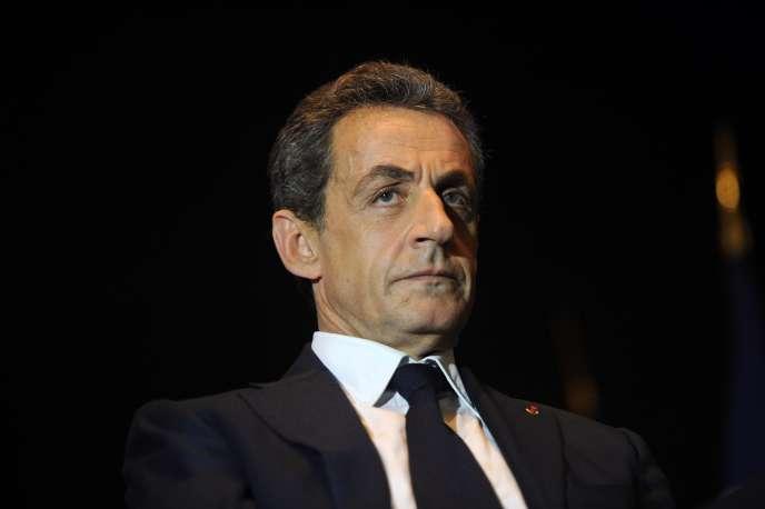 Nicolas Sarkozy en décembre 2015 à Rochefort.