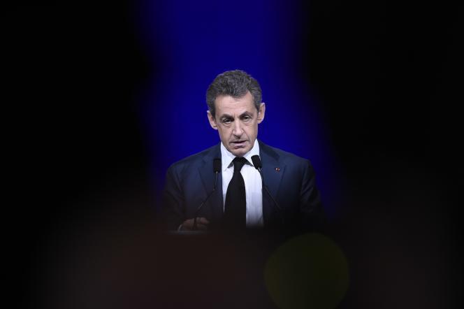 Nicolas Sarkozy, le 14 février à Paris.