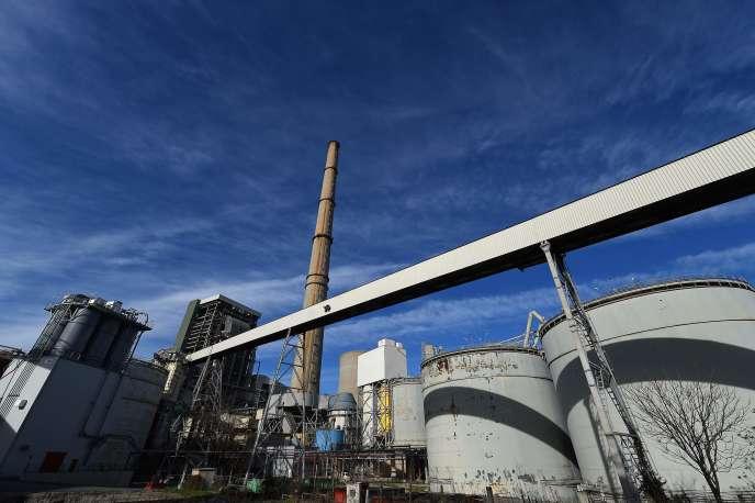 La centrale électrique de Gardanne.
