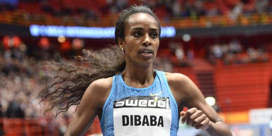 Genzebe Dibaba, le 17février.