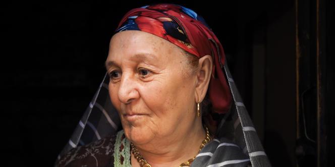 Salima, la mère de Milad Bourguiba, un jeune homme originaire de Syrte exécuté publiquement par l'EI le 16 janvier 2016.
