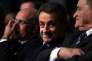 Nicolas Sarkozy pendant un meeting du parti Les Républicains à Nimes, le 20 janvier 2016.