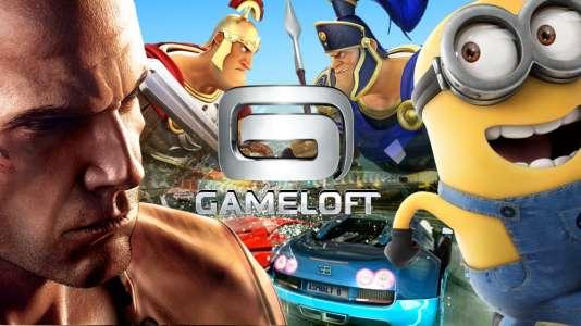 Gameloft édite de nombreux jeux issus de licences telles Astérix ou les Minions.