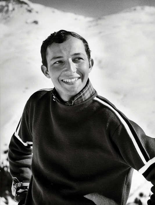 Laurent Fabius en février 1966.
