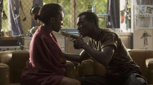 Capture d'écran du film Black, dont la sortie a été annulé dans les salles françaises.