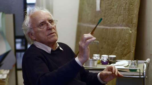 L'artiste français Gérard Fromanger.
