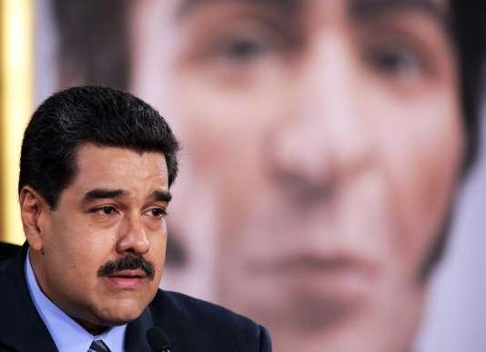 Le président Maduro, mercredi 17 février.