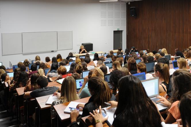 L'université Paul-Valéry - Montpellier 3, le 28 septembre 2015. AFP PHOTO / SYLVAIN THOMAS