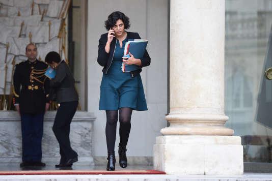 La ministre du travail Myriam El Khomri, à Paris, le 16 décembre.